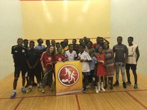 The Foundation visits Egoli