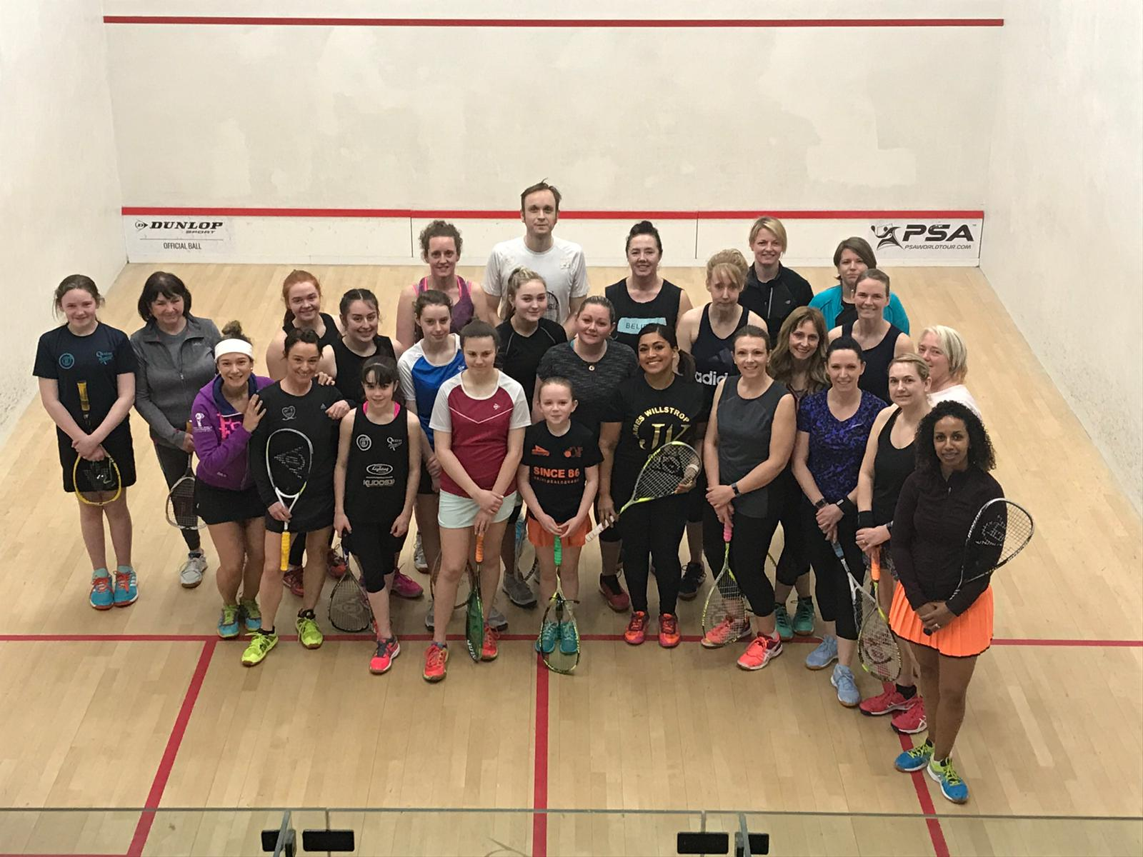 Willstrop Women's Squash Day