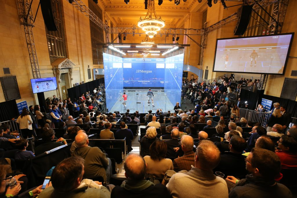 Tournament of  Champions squash venue