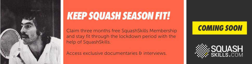 Free 3 months SquashSkills Membership. PSA Foundation