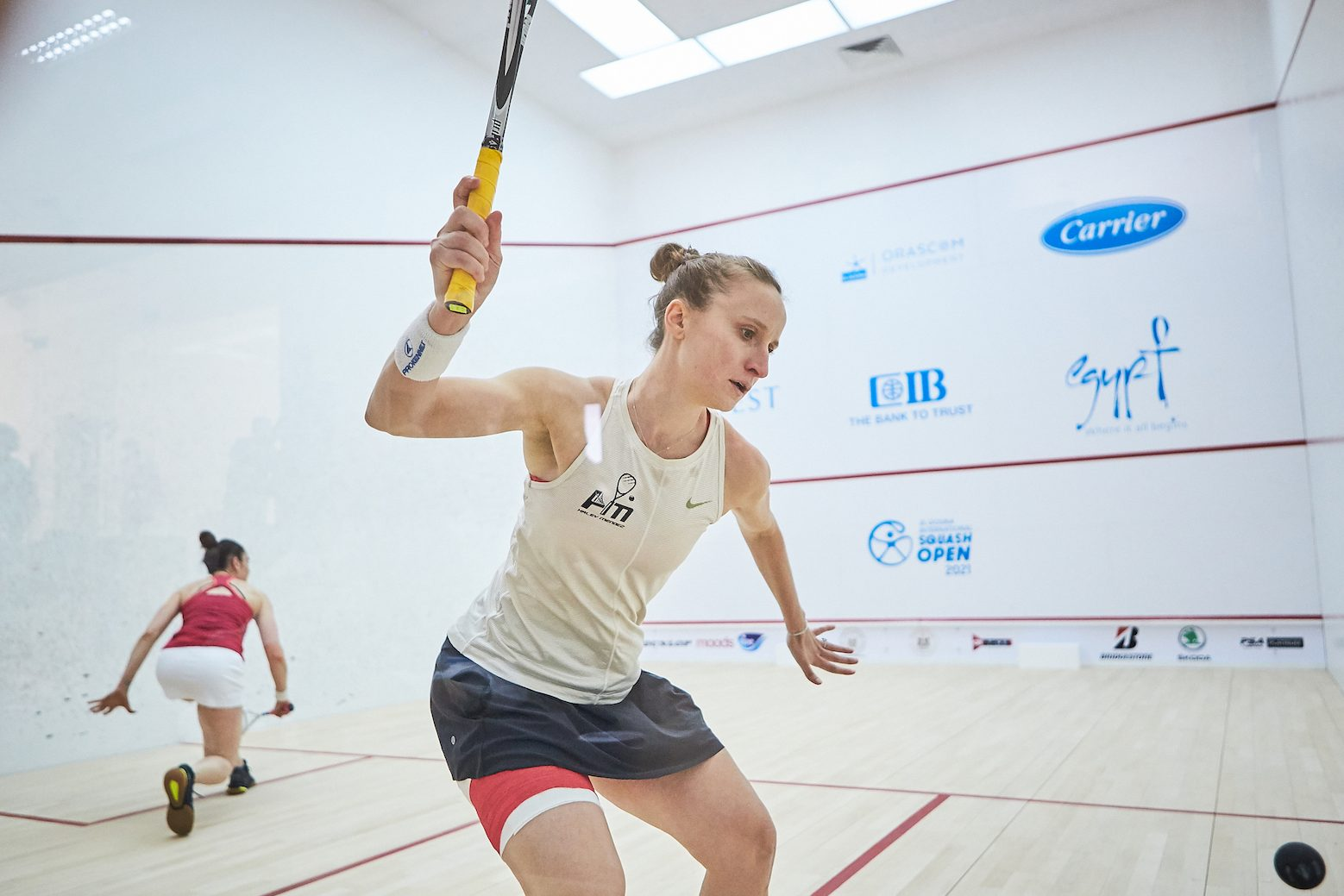 The USA's Haley Mendez will participate in Women's Squash Week.